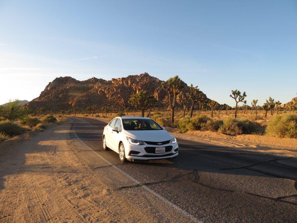 Roadtrip door West Amerika