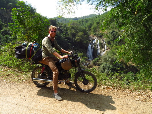Motorrijden Vietnam Ruud