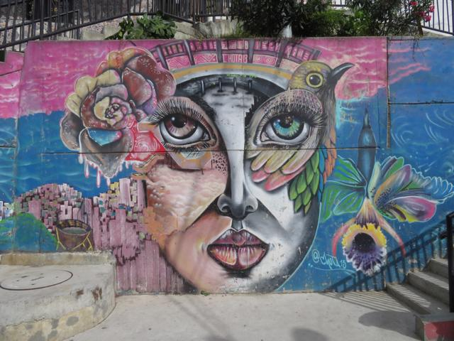 Graffiti in Medellin