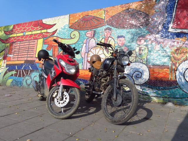 Motoren in Hanoi