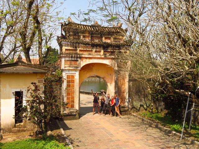 Oude citadel Hue