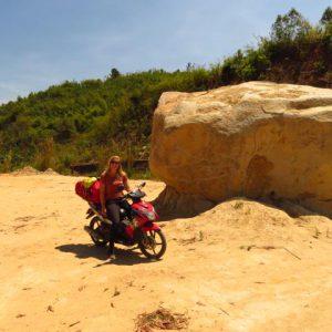 Motorroute naar Ho Chi Minh City
